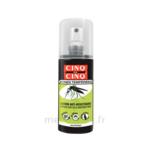 Acheter Cinq sur Cinq Zones Tempérées Lotion anti-moustique 100ml à LA VALETTE DU VAR